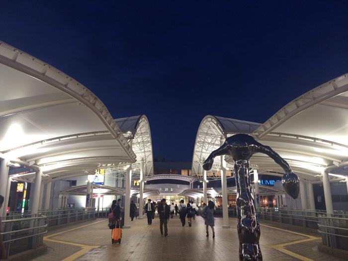 リニューアルされた川越駅西口