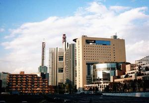 合同庁舎などの行政機関が集積するさいたま新都心