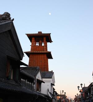 夕暮れ時の時の鐘